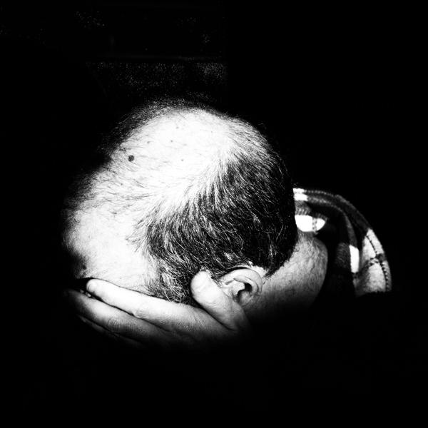 Mans head
