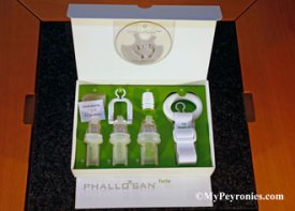 Inside Phallosan box