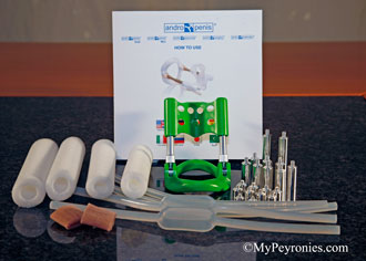Andropeyronie kit package