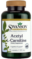 Acetyl L-Carnitine bottle