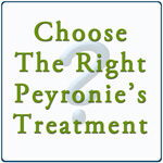 How to choose the right Peyronie's treatment