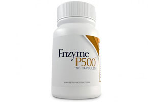 Box of Enzyme P500 supplement