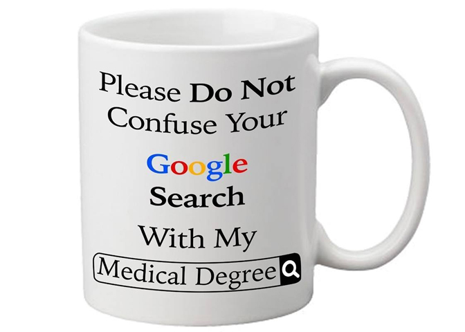 Doctor Google mug