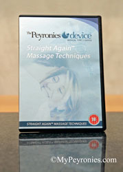 Peyronies Device massage DVD