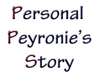 Personal Peyronies story