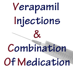 Verapamil injections and combination of medication Peyronie's treatment
