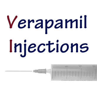 Verapamil injection needle