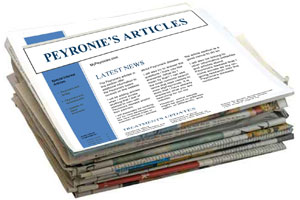 Peyronie's disease articles and news