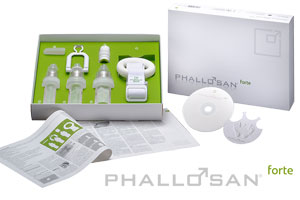 Phallosan Forte vacuum protector system for Peyronie's
