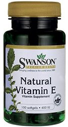 Vitamin E bottle